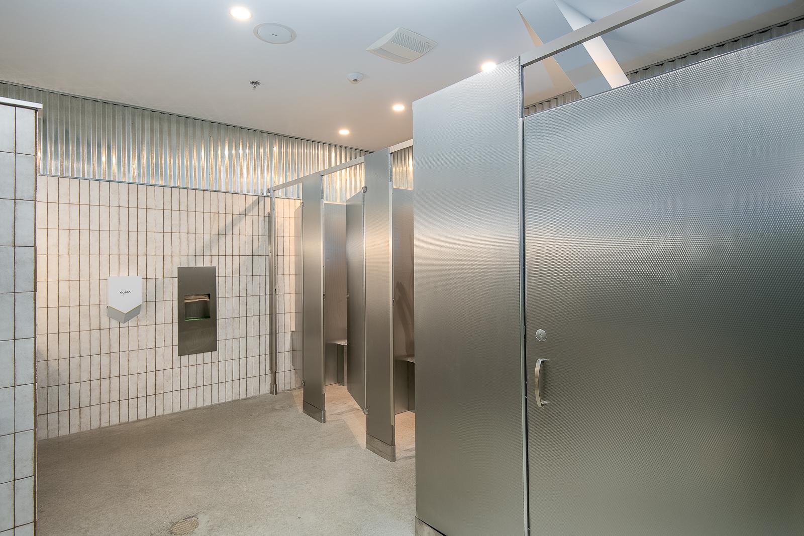 Newly remodeled bathroom.